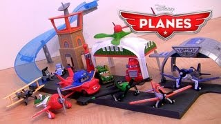 Propwash Junction Airport Playset Disney Planes Mattel Toys | Pixar Cars Toons Air Mater Review