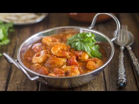 كاري الروبيان الهندي إيدام How To Make Tasty Prawn Curry أكلات هندية الدولفينة Youtube