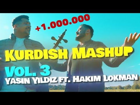 KURDISH MASHUP VOL. 3 - YASIN YILDIZ FT. HAKIM LOKMAN - KEMANCE [official Video] By. Halilnorris