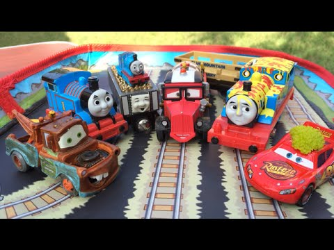 Thomas And Friends Toy Trains Disney Cars Toys Egg