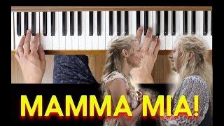 Kisses of Fire (Mamma Mia! Here We Go Again) [Easy Piano Tutorial]