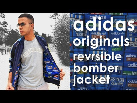 Adidas Originals Reversible Bomber Jacket