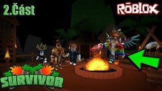 🌴 we become Roblox Robinson??! 🌴 | 2/2 Roblox | 🌴 Survivor | jurasek05