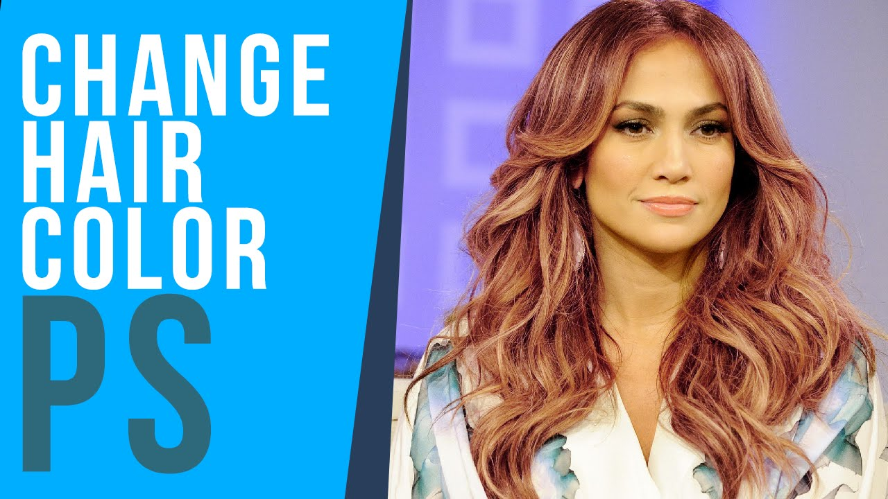 How To Change Hair Color In Photoshop Of Photoshop Change ...