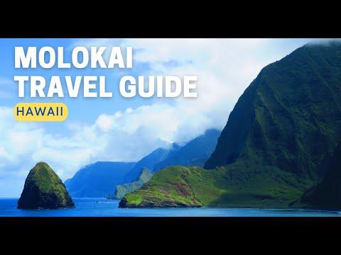 HAWAII -  ISLAND OF MOLOKAI: Quick Tour & Top Highlights