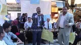"""اعتصام نقابة المحامين: يا تابوت يا تابوت.. إلحق مصر عشان """"ناعوت"""""""