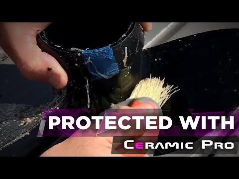 Ceramic Pro Marine test.