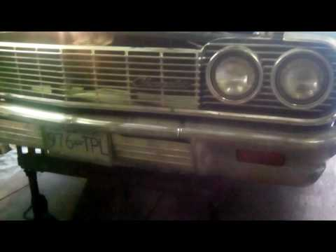 64 Impala video 2 In the air, ready for ball joints!