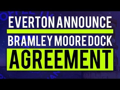 Everton Announce Bramley Moore Dock Stadium Agreement