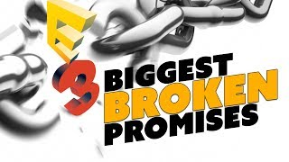 The Biggest BROKEN PROMISES of E3 - The Know Couch Chat