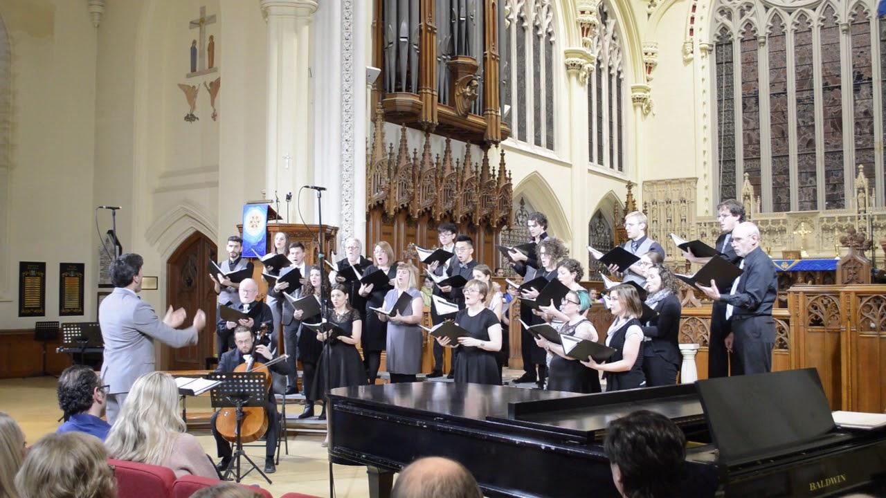 Hamilton Project Choir LIVE | Serenity (O Magnum Mysterium)  - Ola Gjeilo