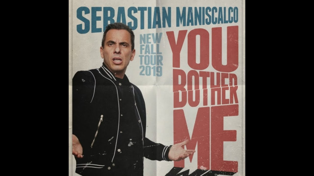 Comedian Sebastian Maniscalco will be performing in Montreal