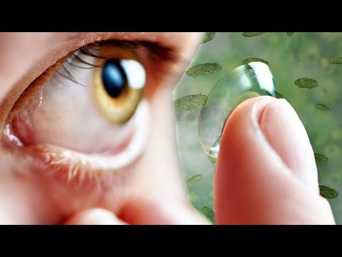 Seriously Gross Facts About Your Contact Lenses