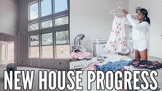 MAJOR HOUSE PROGRESS | PURGING MY CLOSET | DAY IN THE LIFE VLOG | Krista Bowman Ruth