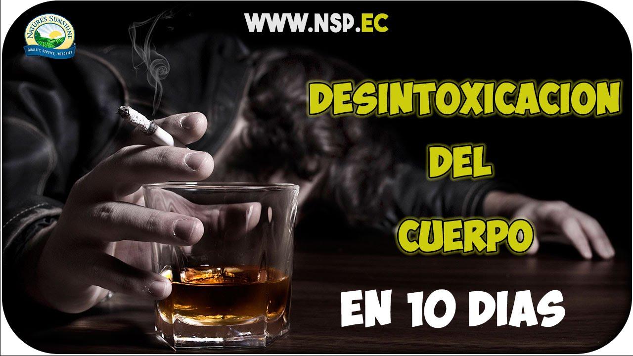 Como desintoxicar el cuerpo despues de tomar alcohol