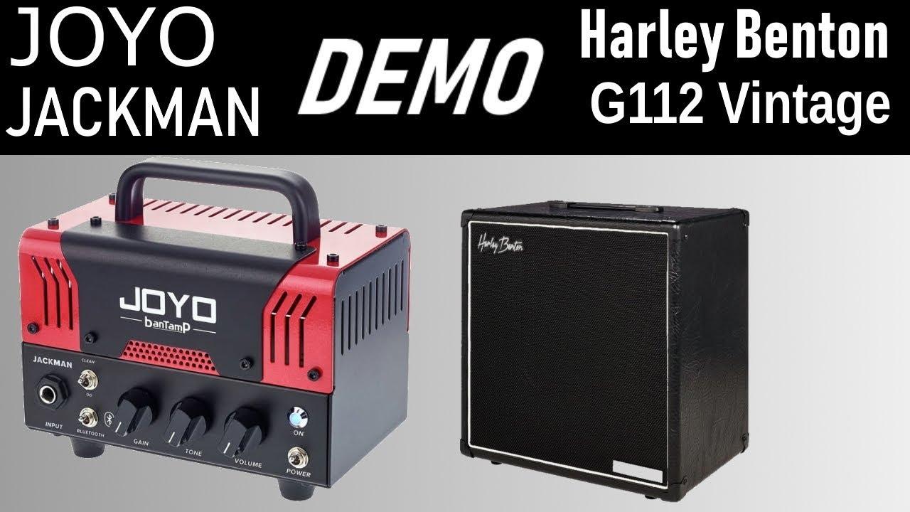 Joyo Jackman and Harley Benton G112 Cab | Demo & Review