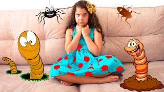 Sarah mostra como as crianças não devem se comportar / Story about how Kids should not behave