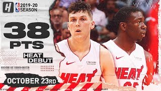 Tyler Herro & Kendrick Nunn CRAZY Heat Debut Highlights vs Grizzlies 2019.10.23 - 38 Pts Combined!