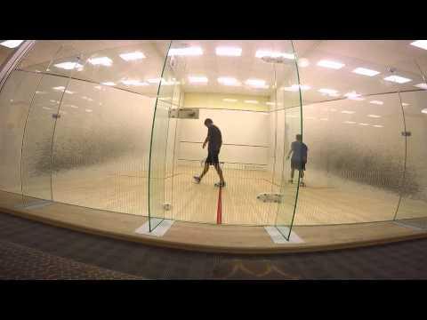 Toby vs. Harrison Squash Game