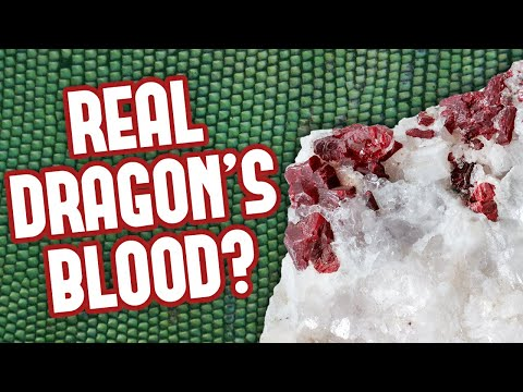 A Gemstone Filled With Dragon's Blood?!