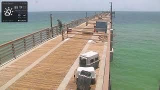 City of Dania Beach Pier Cam live stream on Youtube.com