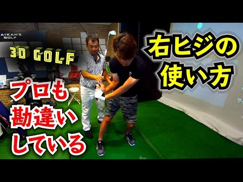 三觜喜一プロに右ヒジの使い方を修正してもらうの巻 【 鈴木真一 3D ゴルフ 】3D Golf