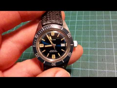 Kelton watch (Timex). 70s diving style watch.