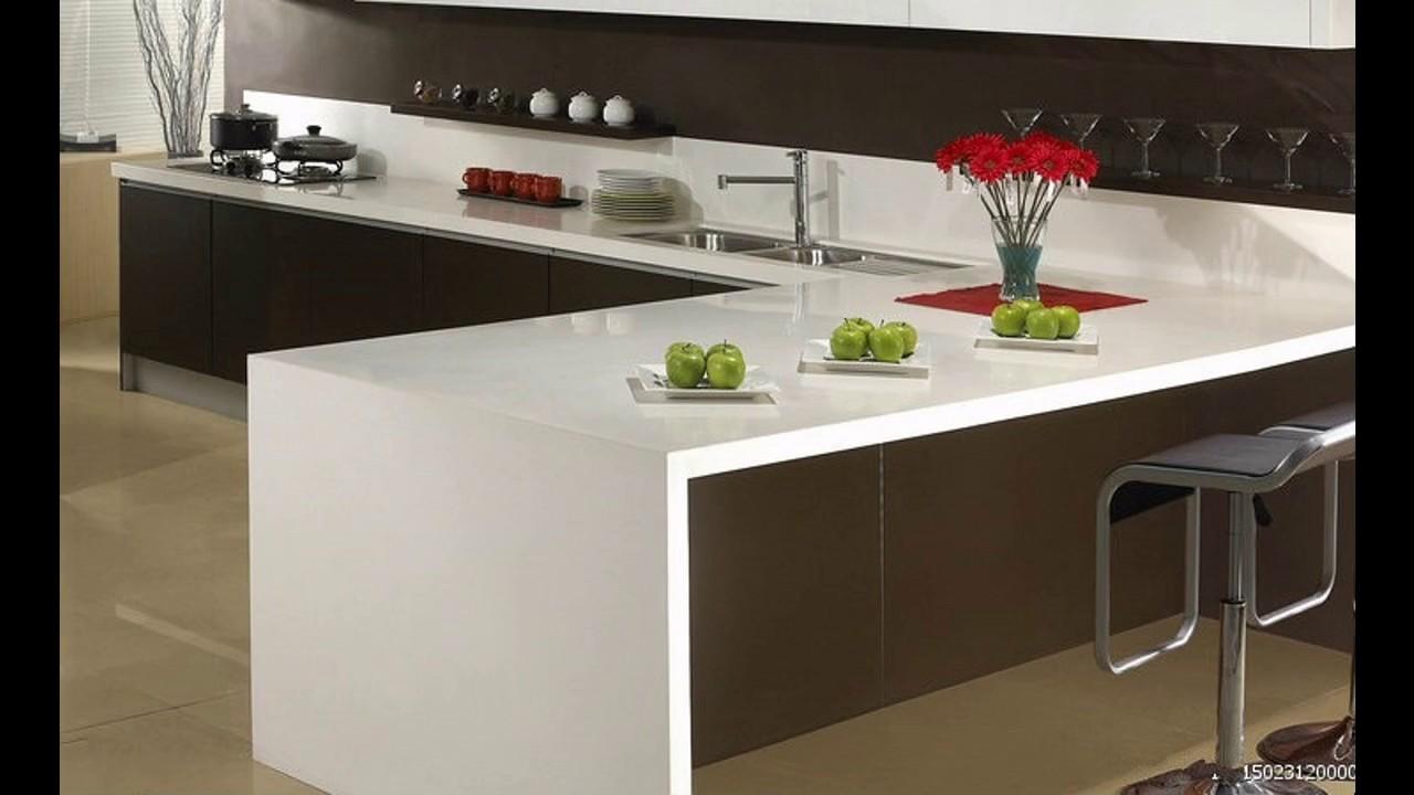 Cocinas con cuarzo blanco youtube for Grado medio cocina y gastronomia