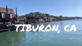 TIBURON - THE SEASIDE ESCAPE in SAN FRANCISCO - travel vlog 2019