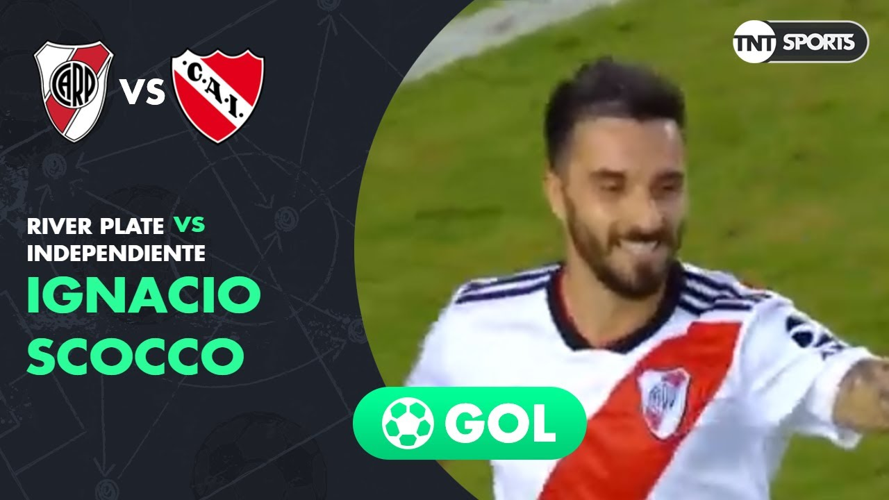 Ignacio Scocco (2-0) River Plate vs Independiente | Fecha 23 - Superliga Argentina 2018/2019
