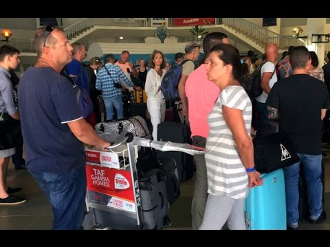 British holidaymakers flown out of The Gambia