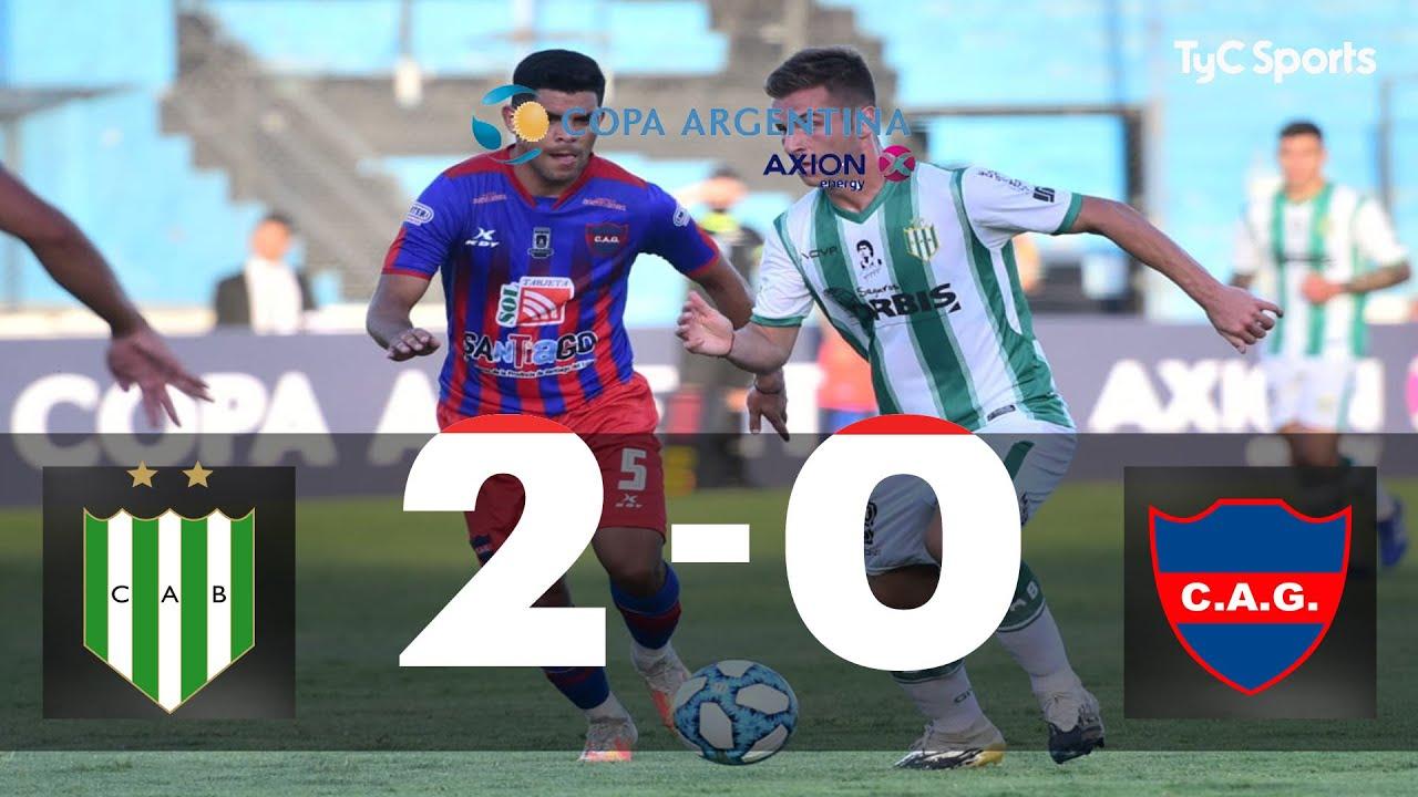 Banfield 2-0 Atlético Güemes | Copa Argentina