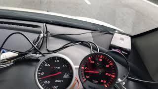 GREDDY SIRIUS REPLICA VS original Apexi boost gauge made in Japan