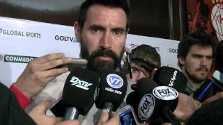 Eduardo Dominguez previa vs River Plate Copa Sudamericana 2015- Huracán TV -