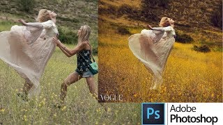 Photoshop CC Tutorial. My Photo from Vogue.it [Sub Espanol]