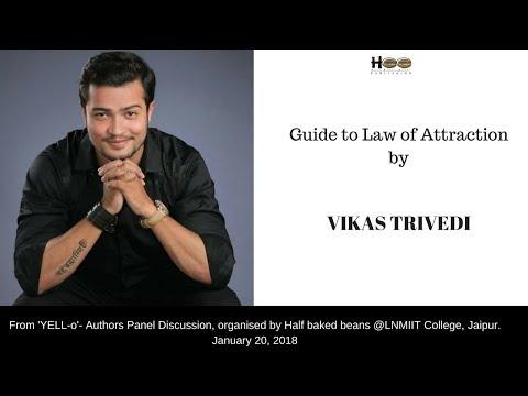 Vikas Trivedi  | Law of Attraction | Half Baked Beans | LNMIIT JAIPUR