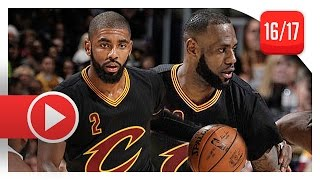 Kyrie Irving & LeBron James Full Highlights vs Clippers (2016.12.01) - 44 Pts