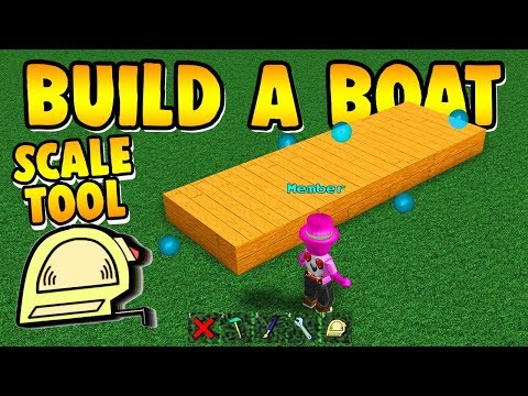Build a Boat BEST UPDATE EVER!!! ( Scale Tool, Codes and More! )
