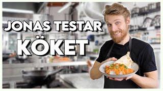 JONAS TESTAR KÖKET!