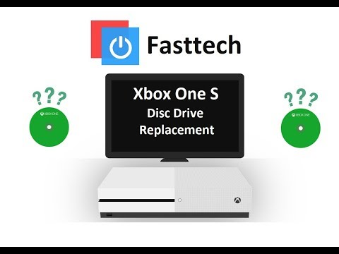 Xbox One S Disc Drive Replacement - Fix Disc Reading Errors / Disc Games Not Loading