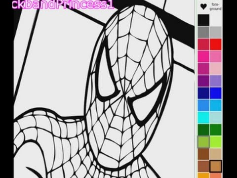 Spiderman Coloring Pages | Spiderman Coloring Book - YouTube
