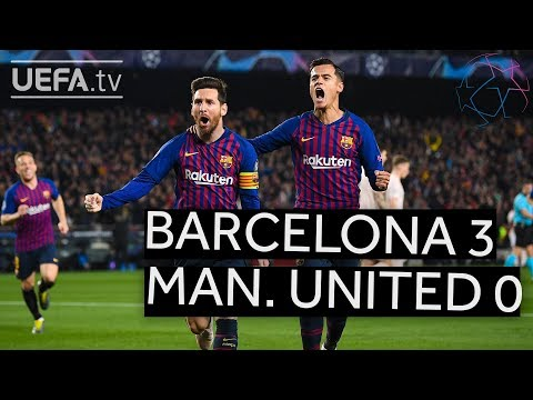 BARCELONA 3-0 MAN. UNITED #UCL HIGHLIGHTS