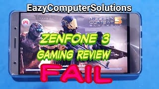 Asus ZenFone 3 Deluxe ZS570KL 6GB Ram Gaming Review FAIL   THIS PHONE GETS HOT!!