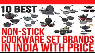 Top 10 Best Non Stick Cookware Set Brands in India with Price