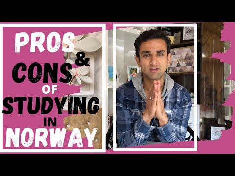 PROS & CONS OF STUDYING IN NORWAY | STUDY IN NORWAY