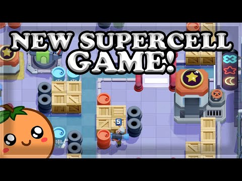 NEW SUPERCELL GAME IS RELEASED TODAY! - RUSH WARS 🍊