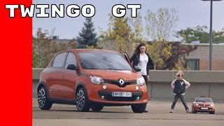 2017 Renault Twingo GT Commercial Trailer
