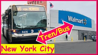 Tren / Bus a Walmart en New York City