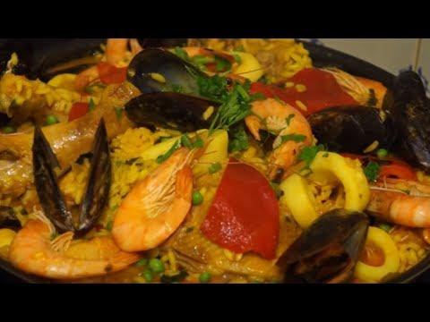 recette rapide et facile de la paella (cuisinerapide) - youtube