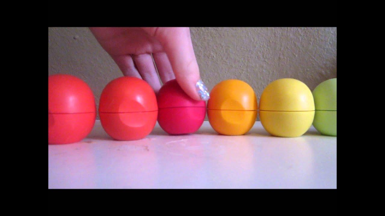 EOS Lip Balm Collection! - YouTube